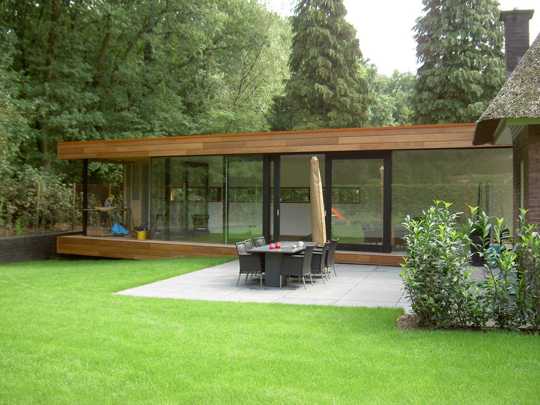 Uitbreiding woonhuis te wolfheze van de burgt strooij - Stenen huis uitbreiding ...