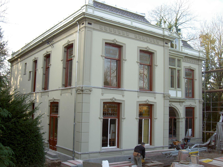 Restauratie rijksmonumentale villa te baarn van de burgt & strooij